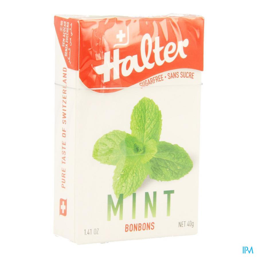 Halter Bonbon Menthe Ss 40 gr