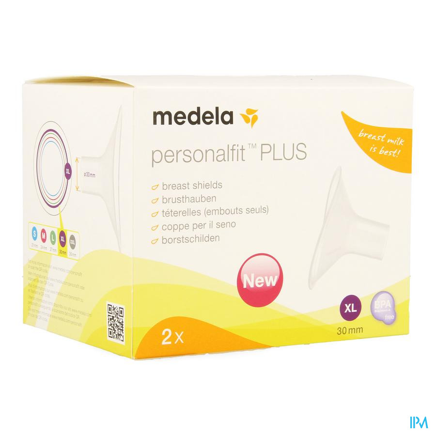 Medela Borstschild Personal Fit Plus Xl 30mm 1p
