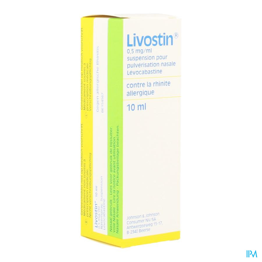 Livostin Neus Spray Nasal 10ml
