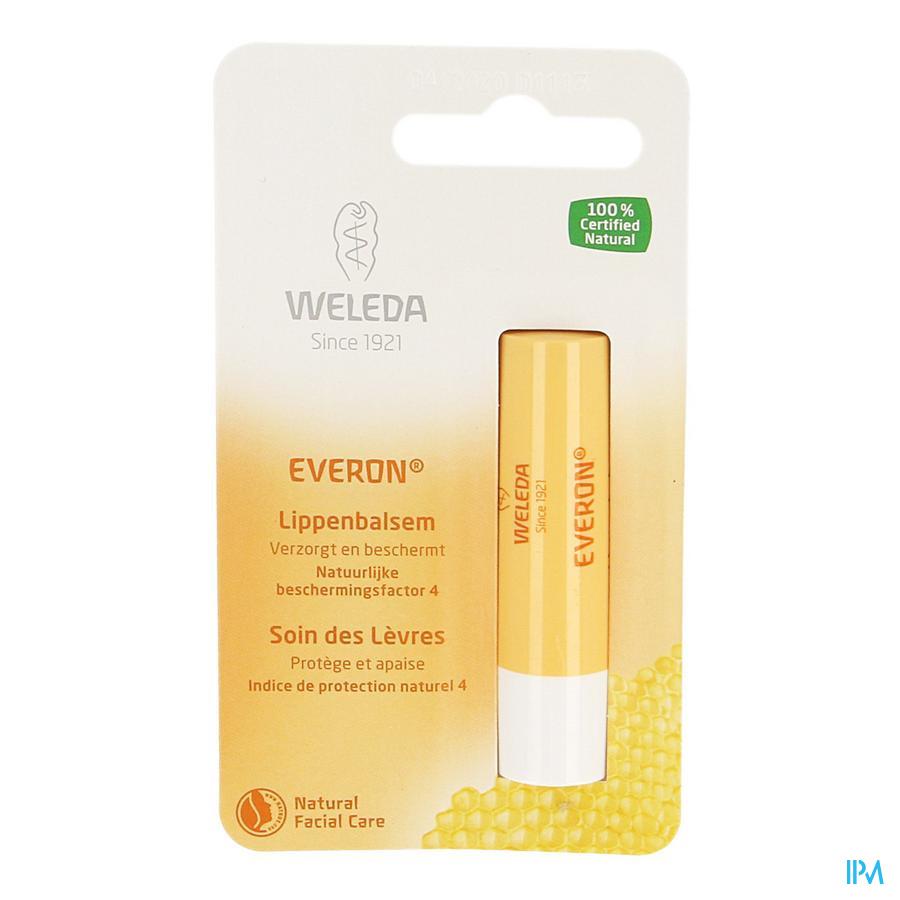 Weleda Lippenbalsem Everon Stick 4g