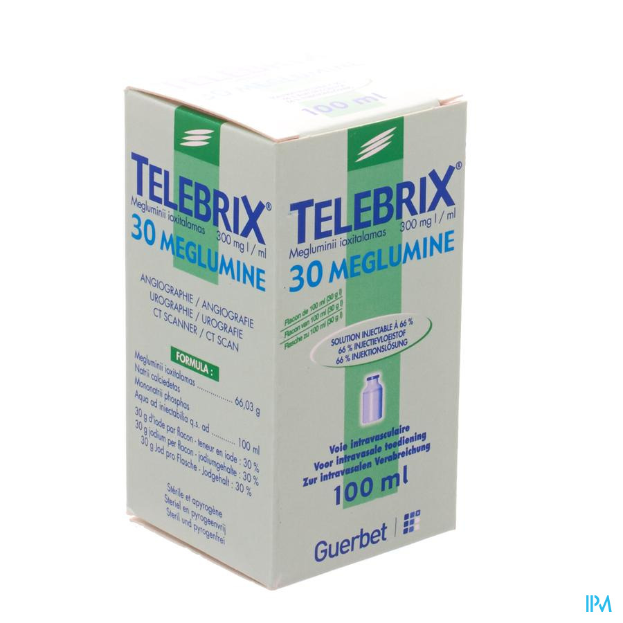 Telebrix 30 Meglumine Inj 1 X 100ml