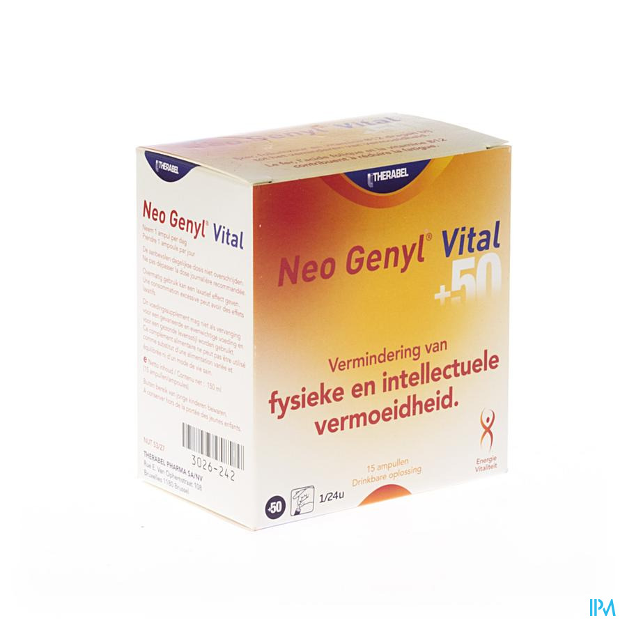 NEO GENYL VITAL AMP 15X10ML