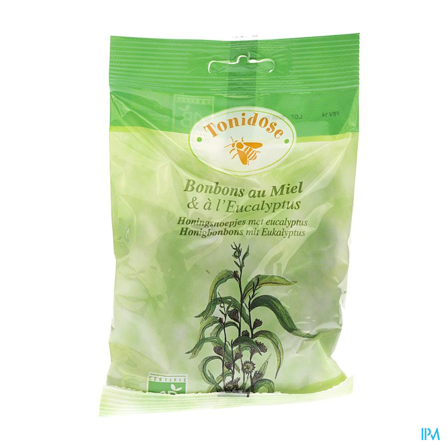 Bonbons Bio Eucalyptus 100g