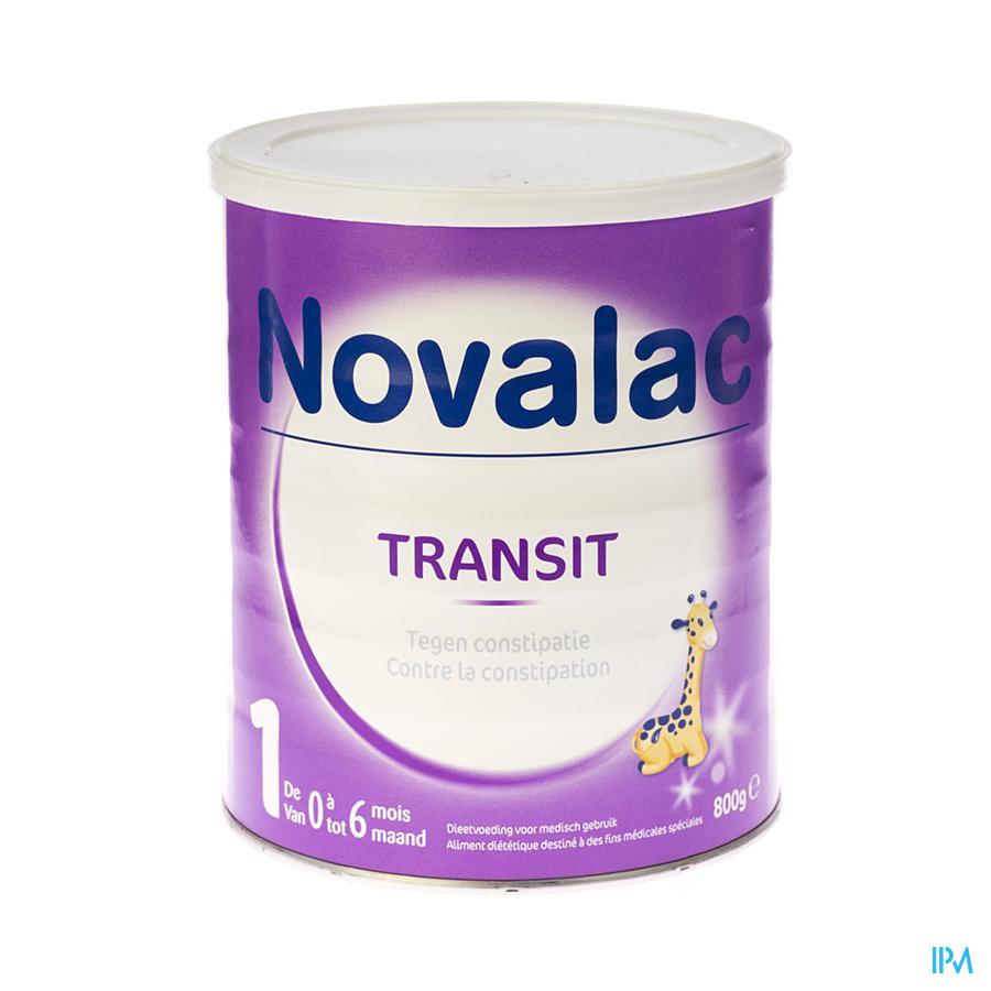 Novalac Transit 1 Zuigelingenmelk Pdr 800g
