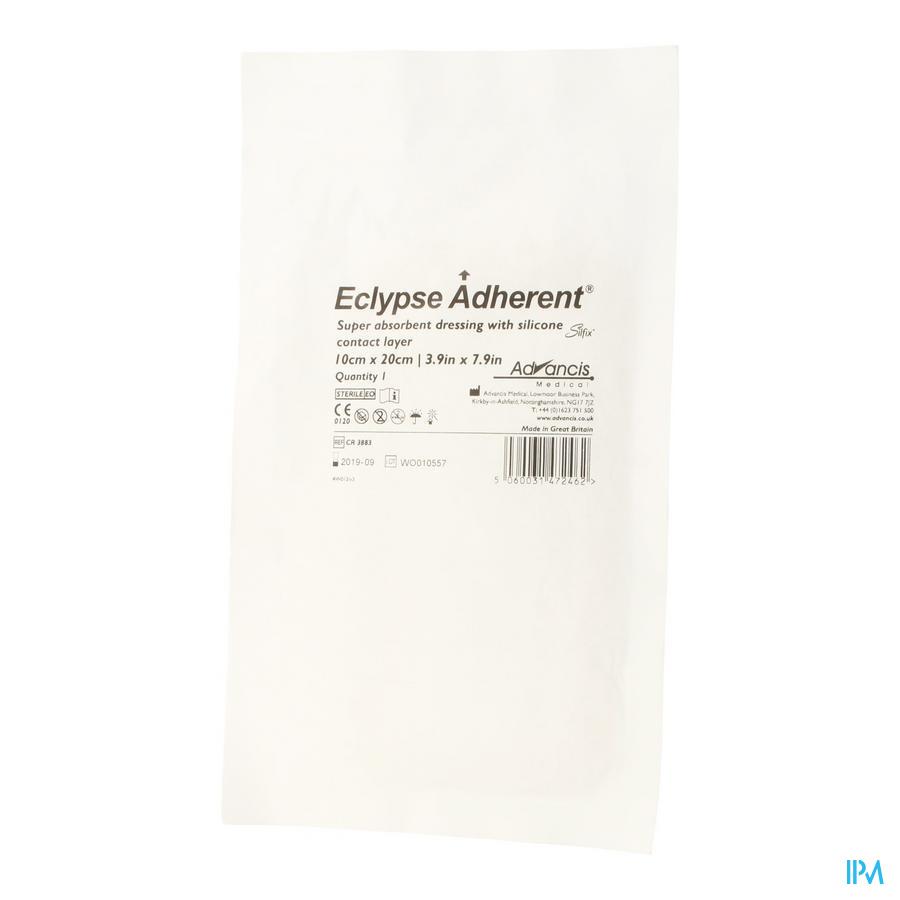Eclypse Adherent Verb Sil Absorb. 10x20cm 1 3883