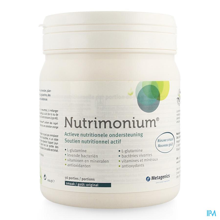 Nutrimonium Original Poeder Pot 56 22970 Metagenics