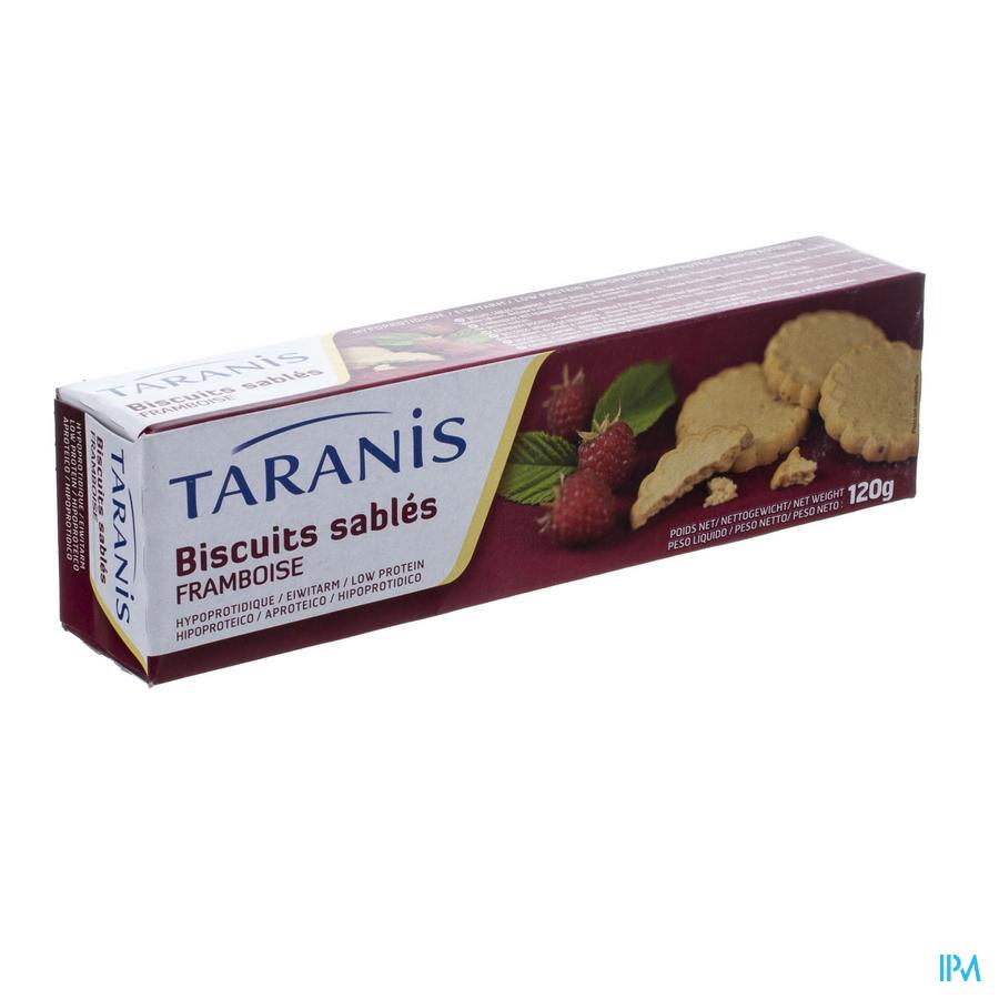 Taranis Zandkoekje Framboos 120g 4616