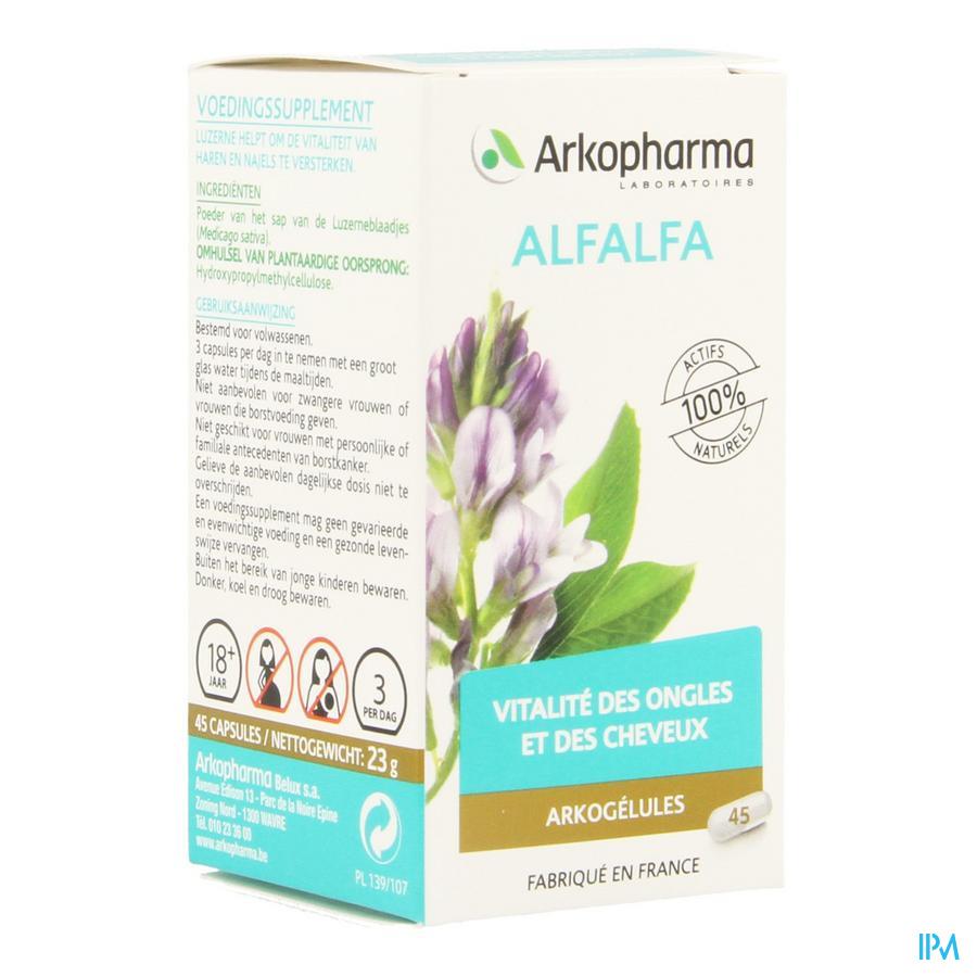 Arkogelules Alfalfa Vegetal 45