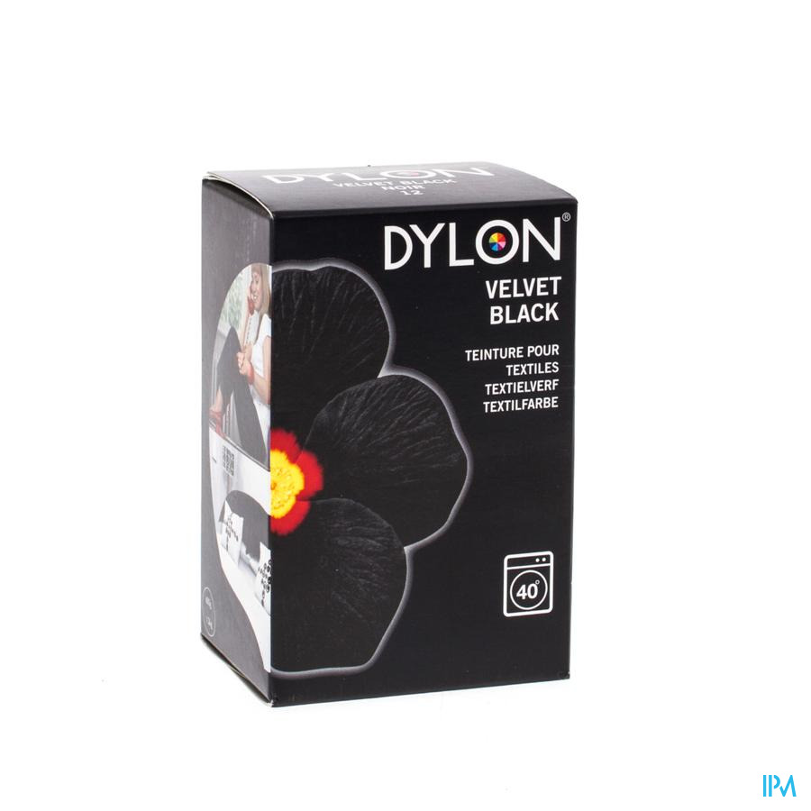 Dylon Kleurst.12 Black 200g
