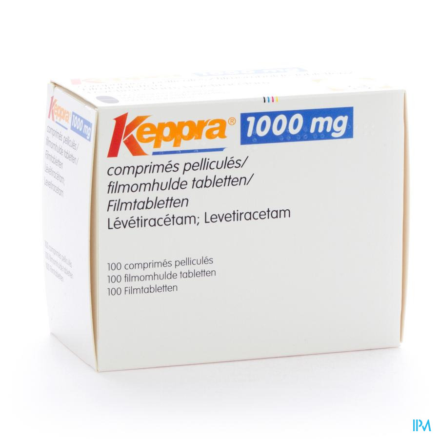Keppra 1000mg Comp Pell 100x1000mg
