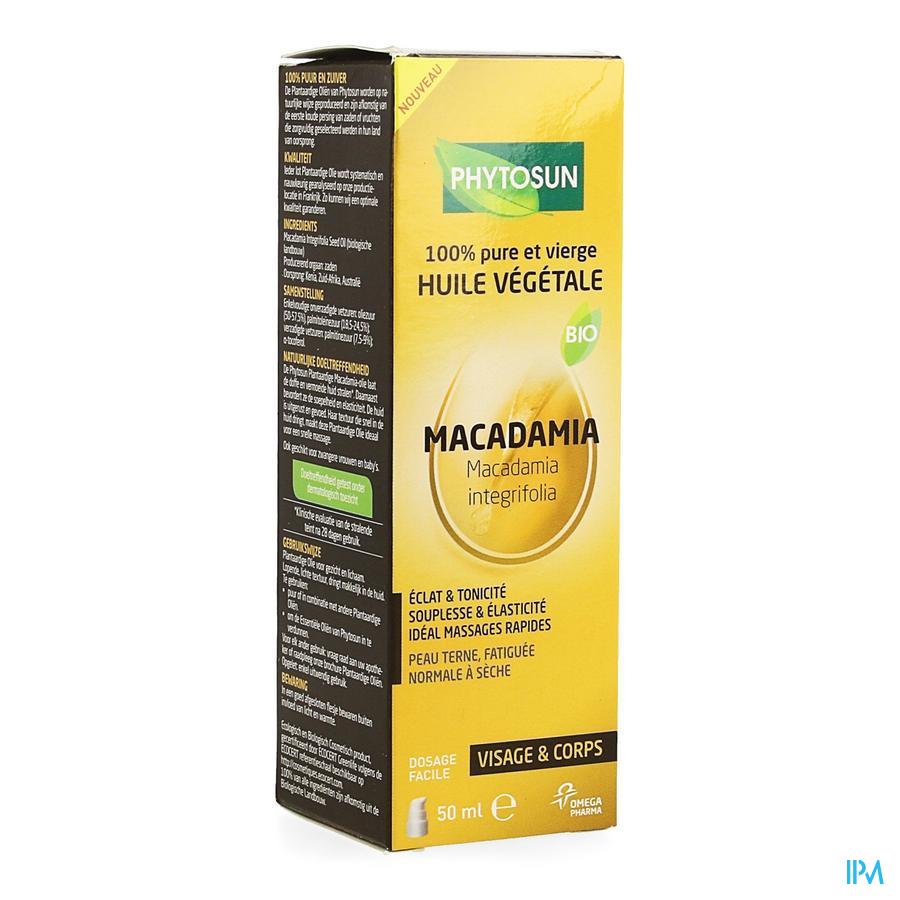 Phytosun Po Macadamia Bio 50ml Be2