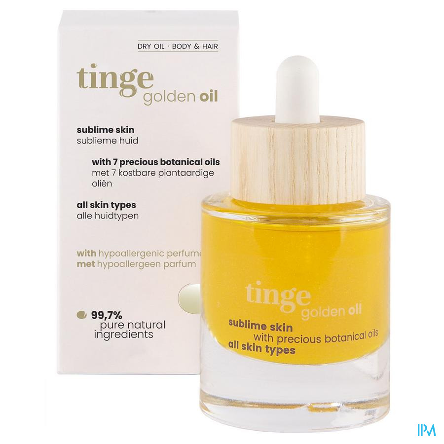 Tinge Golden Oil 30ml Hew Pharma