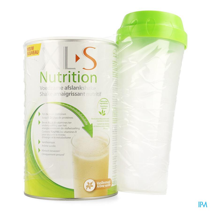 Xls Nutrition Vanille 400g + Shaker