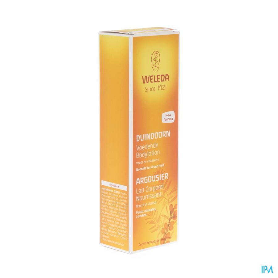 Weleda Duindoorn Bodylotion Voedend 200ml