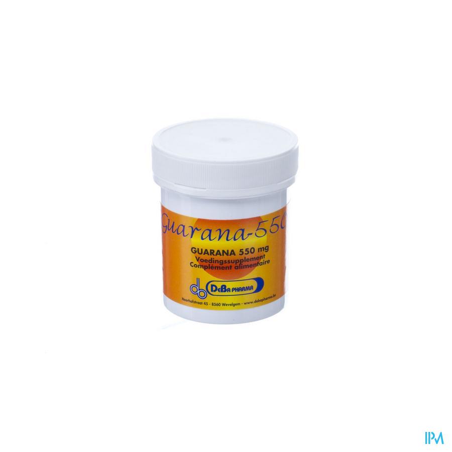 Guarana 550 V-Capsule 60x550 mg Deba