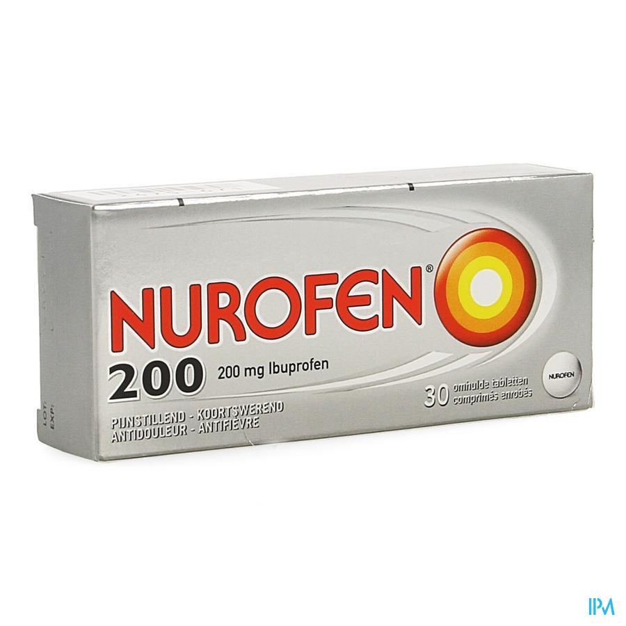 Nurofen Omhulde Tabletten 30 X 200 mg