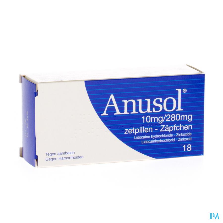 ANUSOL SUPP. 18