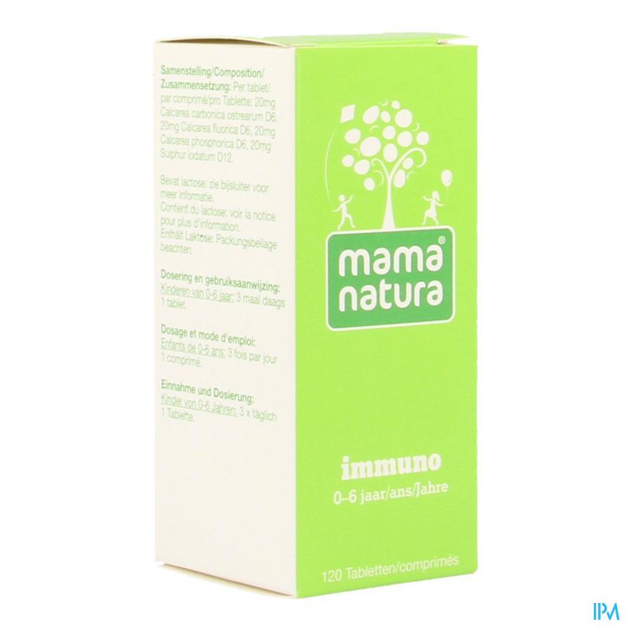mama natura immuno 120 comprimés