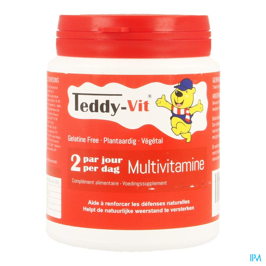 Teddy Vit Multivitamine Beertjes 50