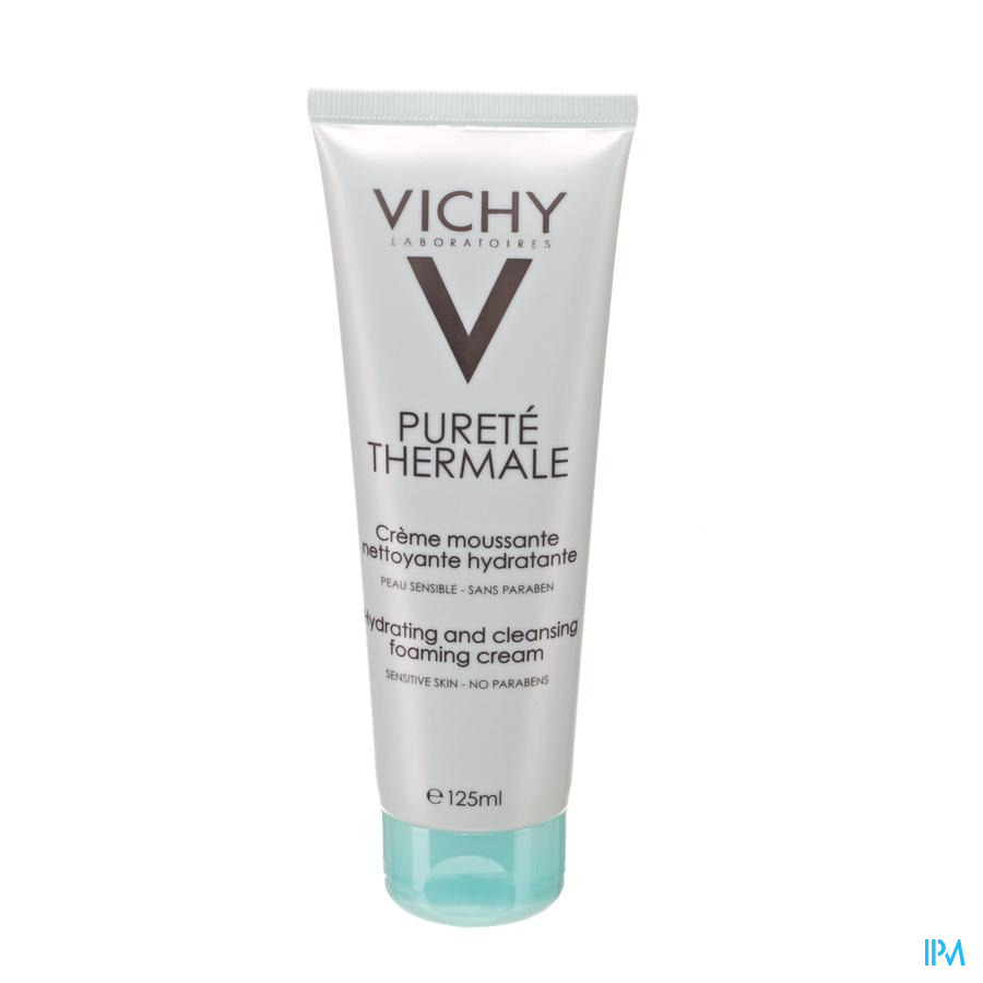 Vichy Purete Thermale Creme Moussante 125ml