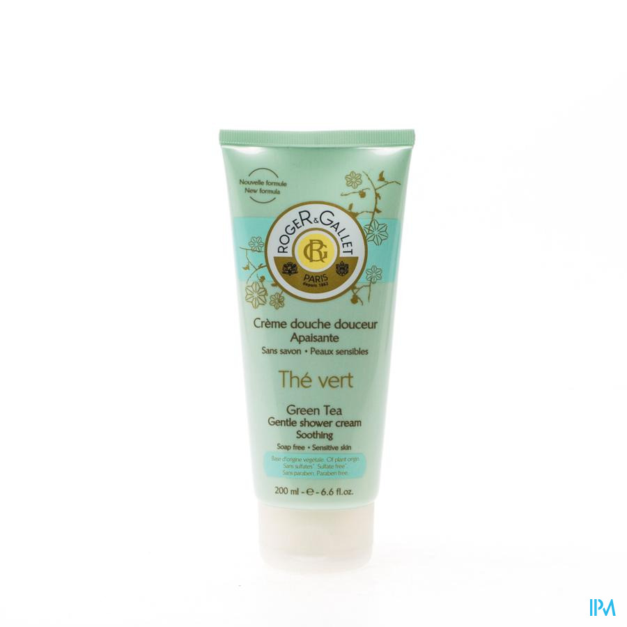 Roger&gallet The Vert Douchegel Tube 200ml