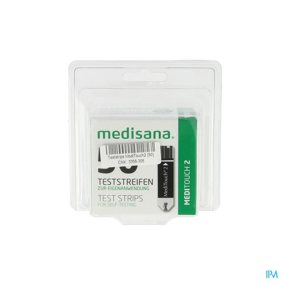Medisana Medi Touch2 Bandelettes Test 50