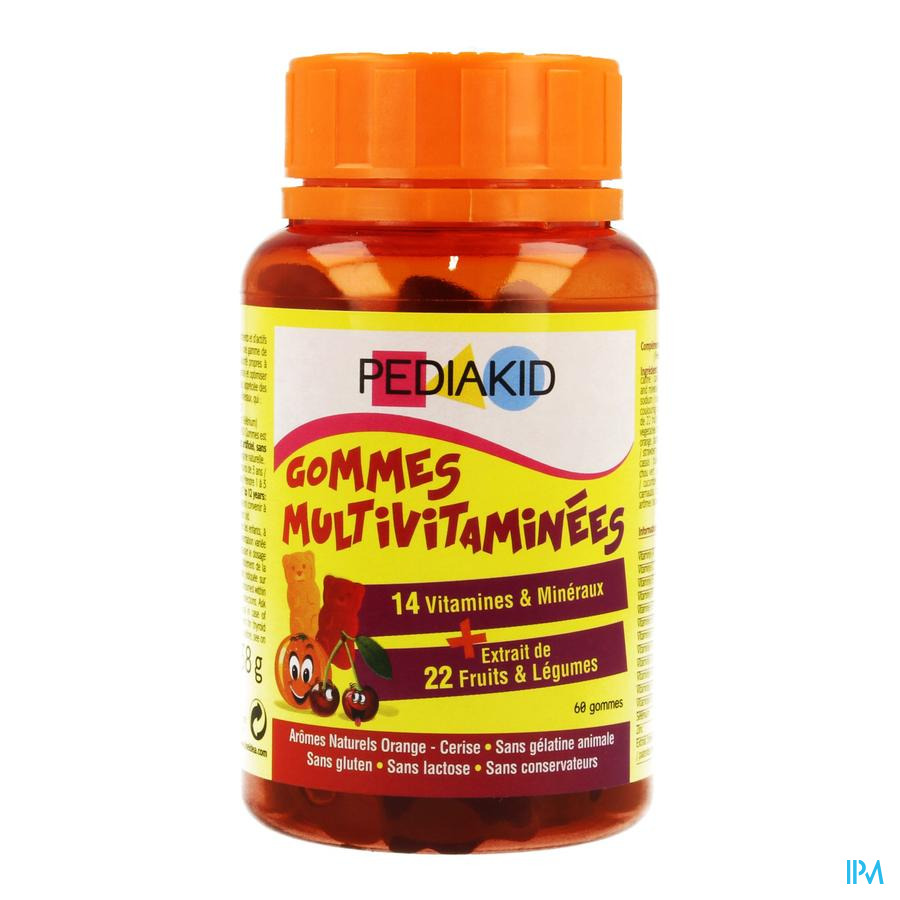 Pediakid Gummies Multivitamines 60