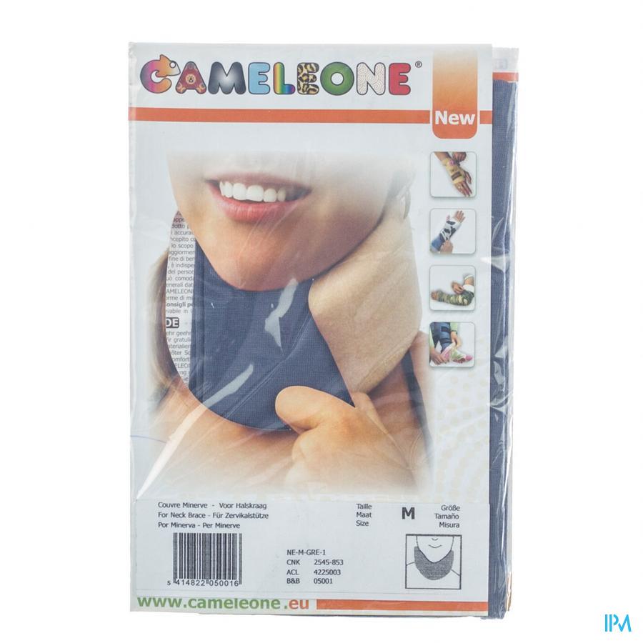Cameleone Halskraag Grijs M 1 Q05001