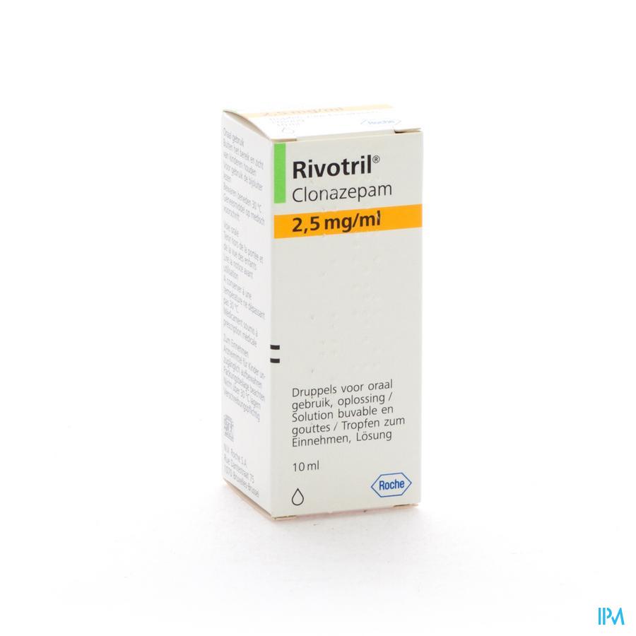 Rivotril Gutt. 10ml/2,5mg-ml