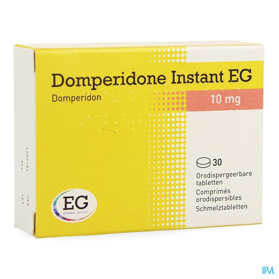 Domperidone Instant Eg Orodisp Tabl 30 X 10mg