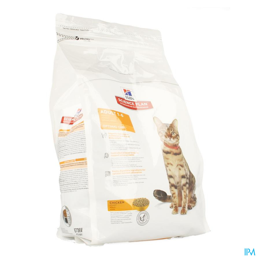 Hills Sc.plan Feline Adult Chicken 2kg 603592