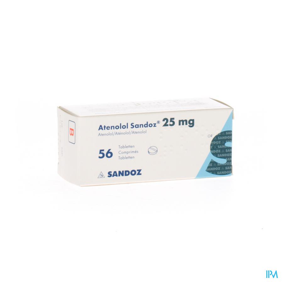 Atenolol Sandoz 25 mg Tabletten 56x 25 mg