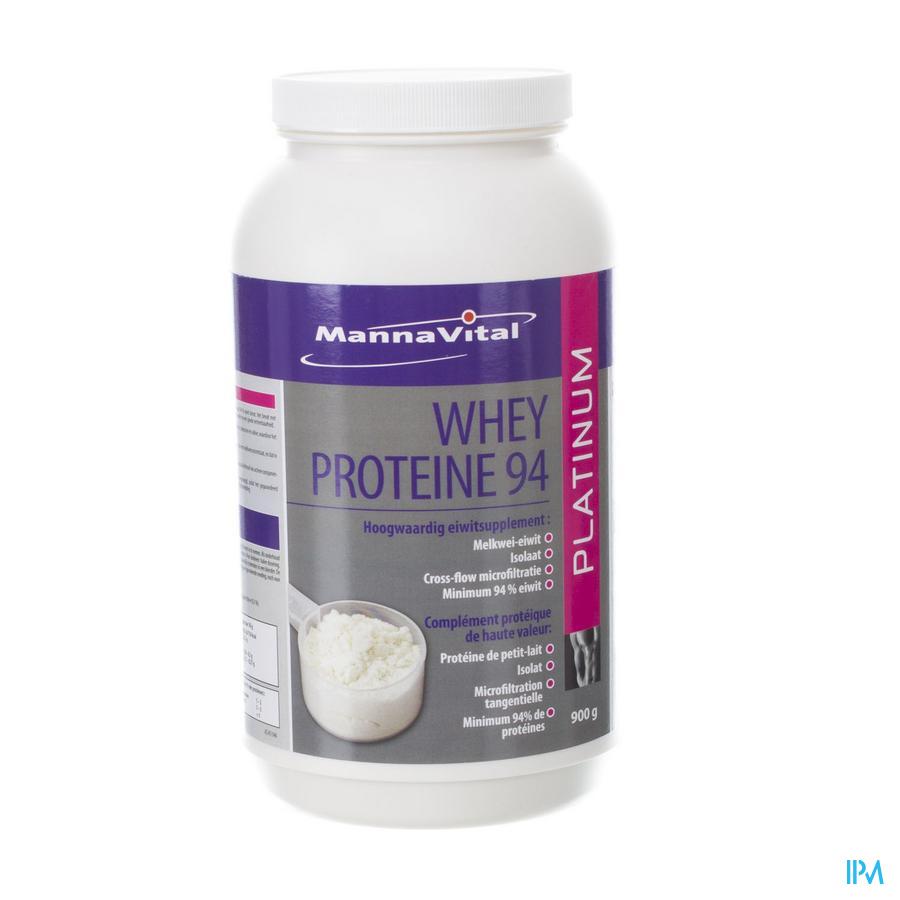 Mannavital Whey Proteine 94 Pdr 900g