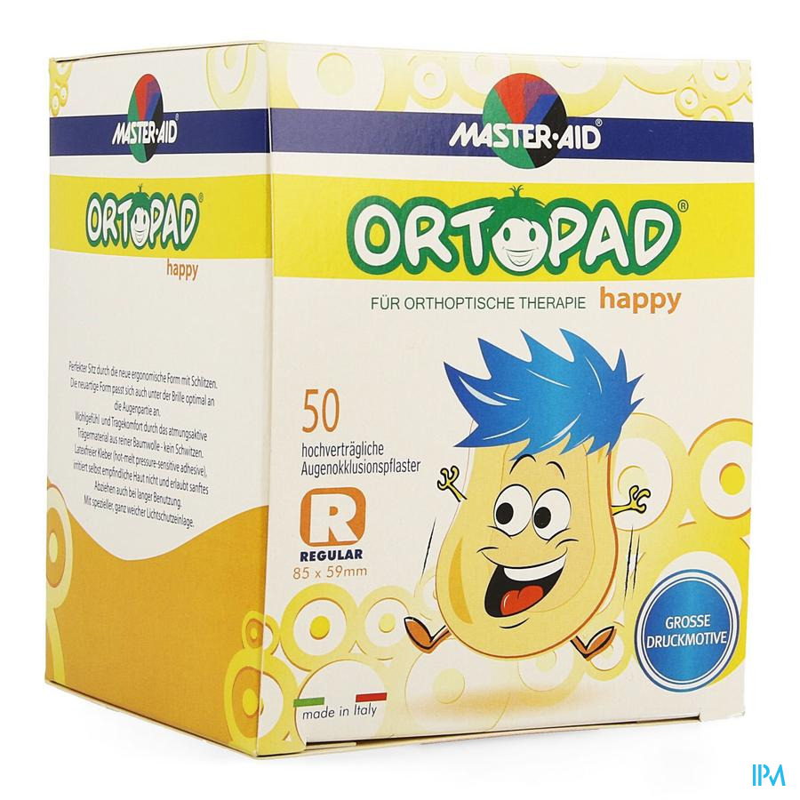 Ortopad Happy Regular Cp Ocul. 50 70134