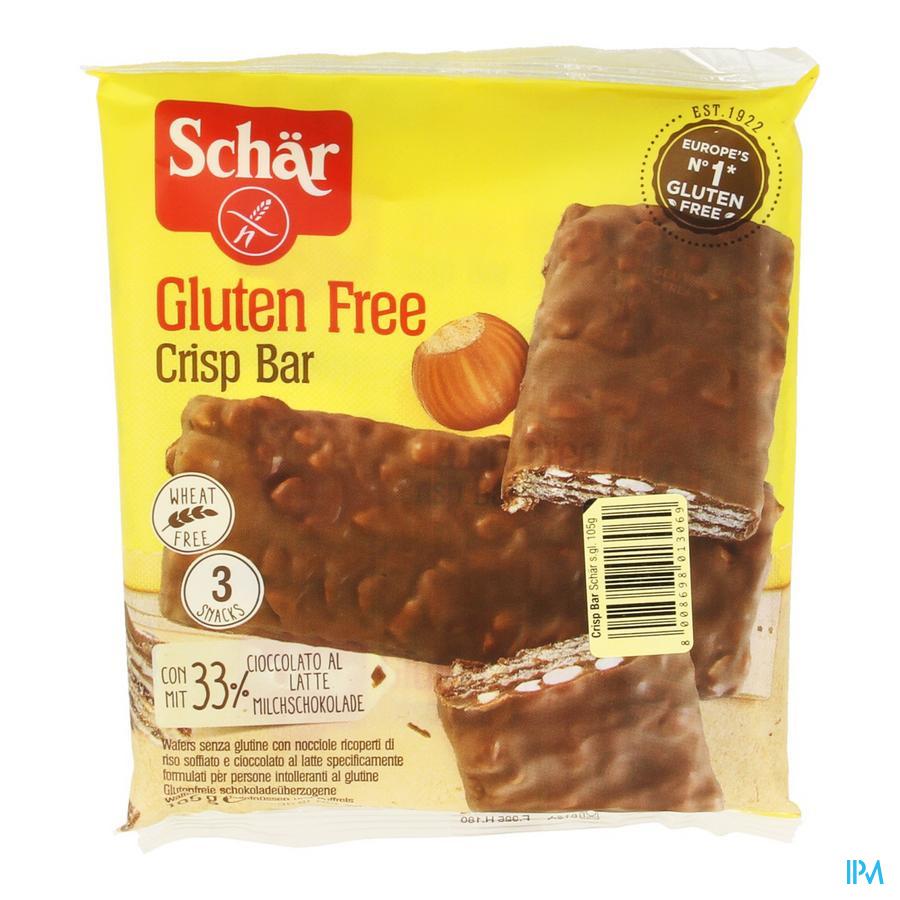 Schar Crisp Bar 4x35g 3208