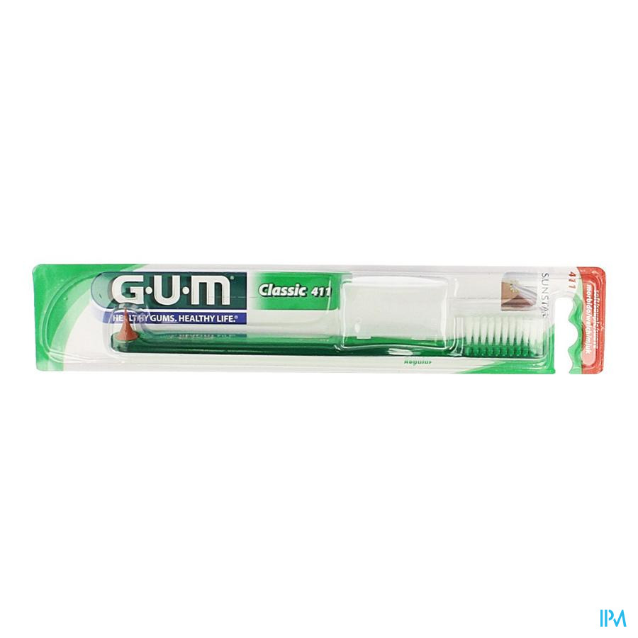 Gum Tandenb Classic Volw Grote Kop 411