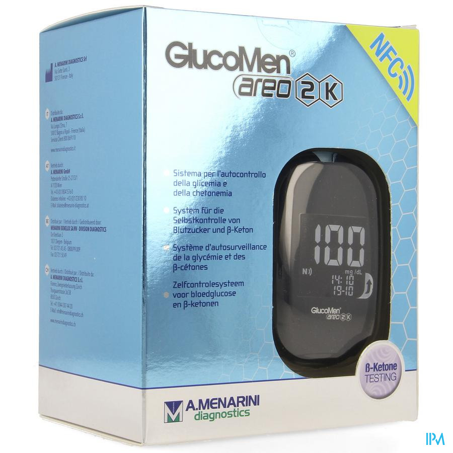 Glucomen Areo 2k Set mg/dl