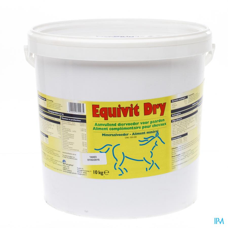 Equivit Dry Pdr Oraal 10kg