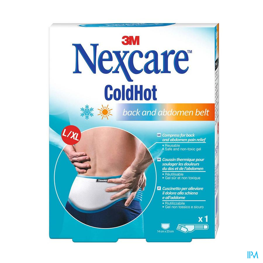 3M Nexcare ColdHot Therapy pack Back-abdomen Belt l N15711l
