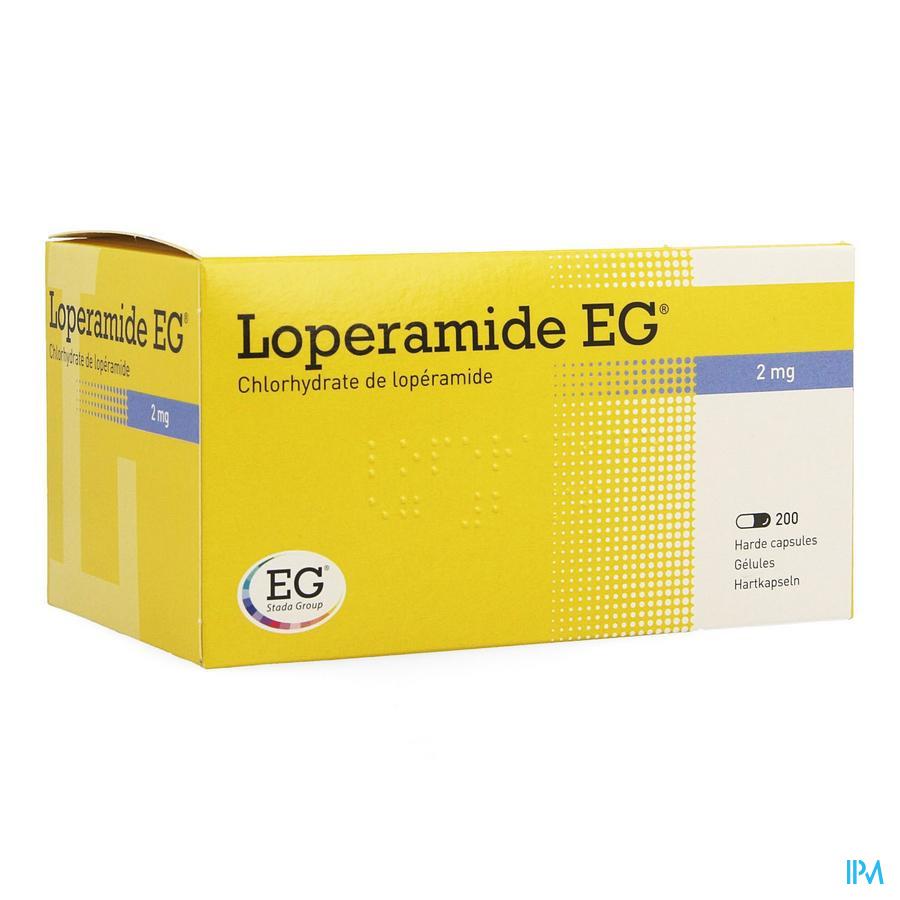 Loperamide Eg Caps 200x2mg