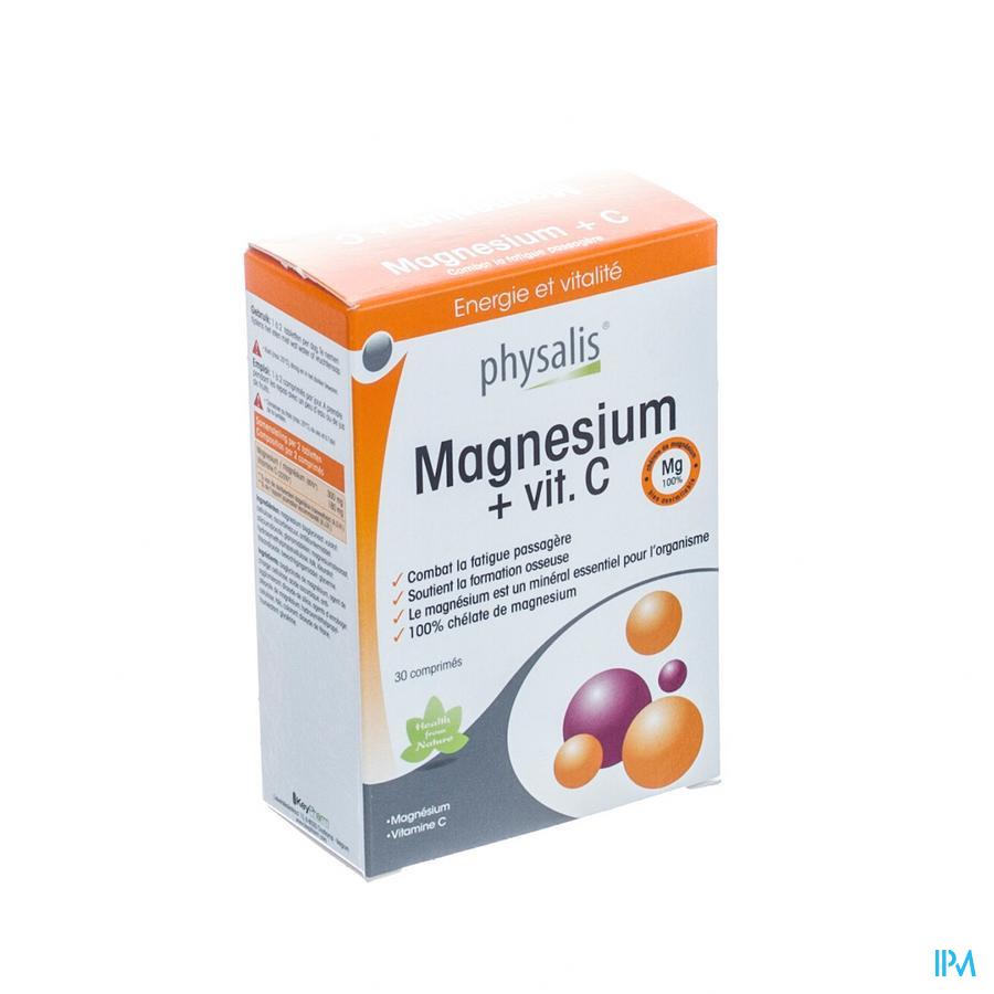 Physalis Magnesium + C Comp 30