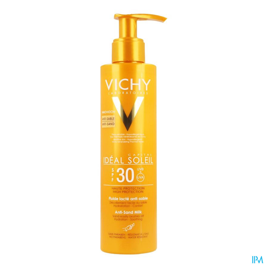 Vichy Ideal Soleil A/sand Ip30 Fluid 200ml