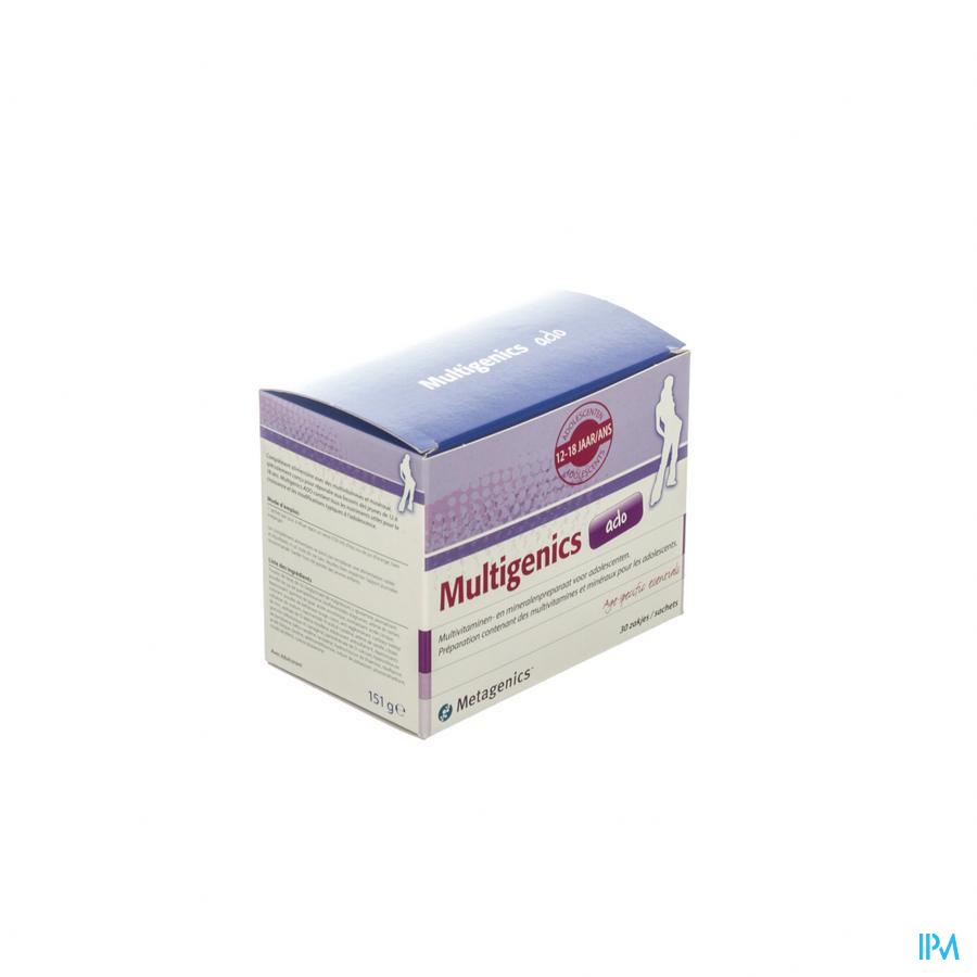 Multigenics Ado Pdr Zakje 30 7283 Metagenics