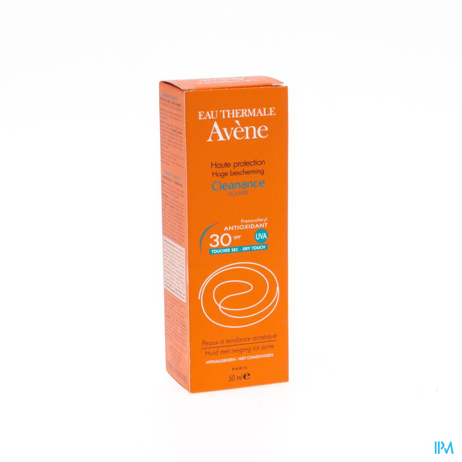 Avene Sol Cleanance Emuls Ip30+ 50ml