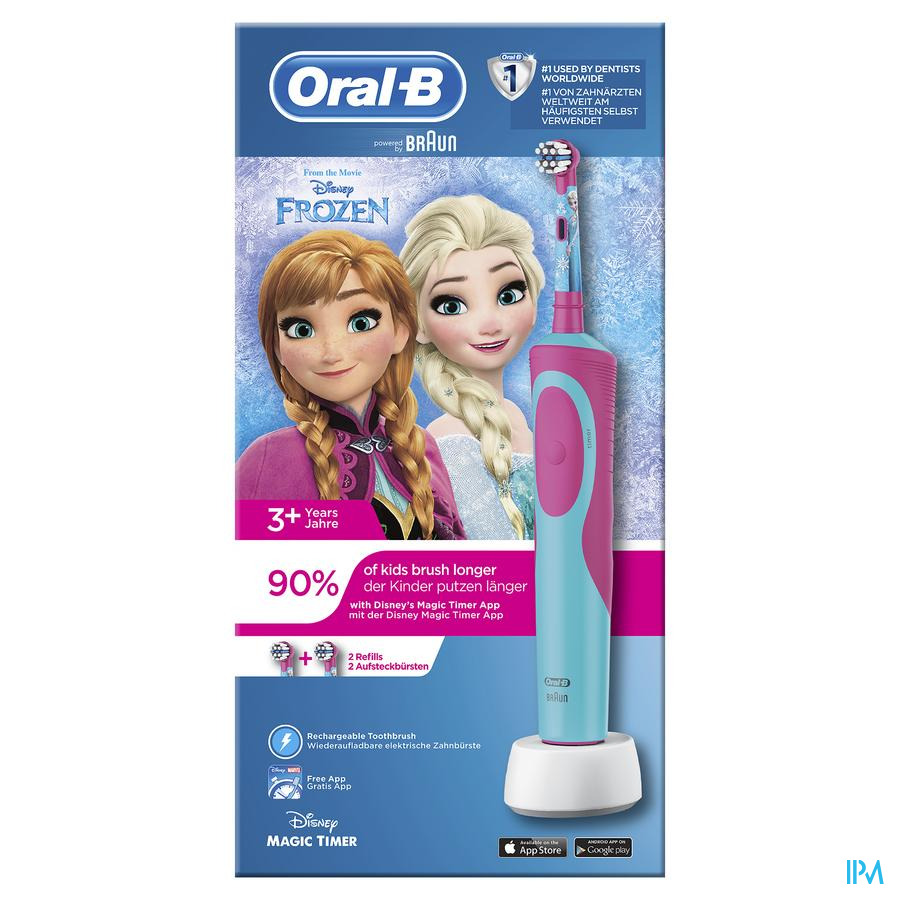 Oral-b Brosse Dents Vit.kids Frozen Box Cfr3969144