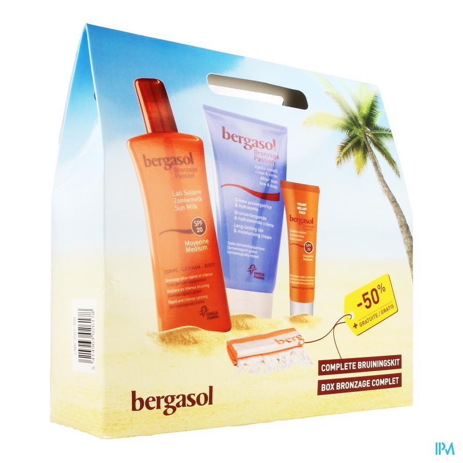 Bergasol Box Bronzage Zonnemelk Spray