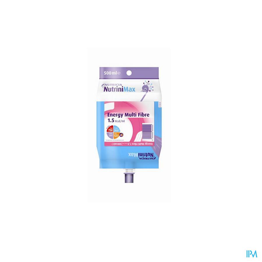 NUTRINI MAX ENERGY MULTI FIBRE 7-12J    PACK 500ML
