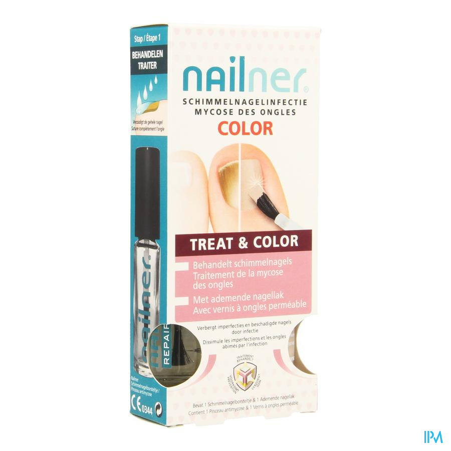 Nailner Brush Treat&color 2x5ml