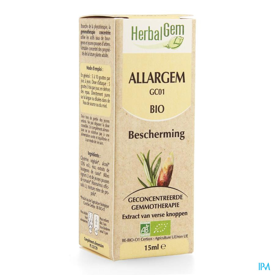 Herbalgem Allargem Complex 15ml