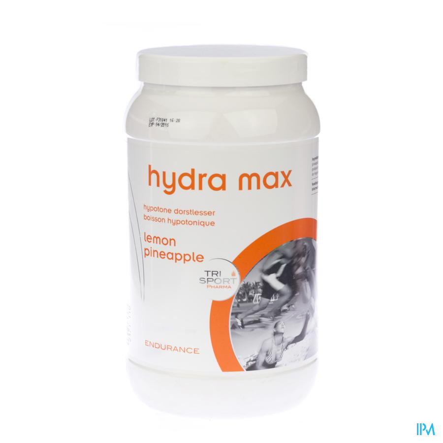 Trisportpharma Hydra-max Lemon Poudre 1kg